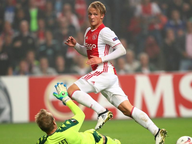 Kasper Dolberg Masuk Daftar Incaran AC Milan