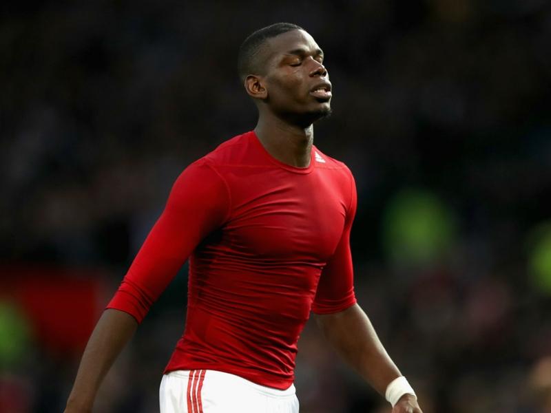 Manchester United, Pogba ne se décourage pas