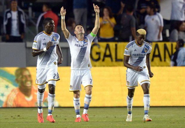 LA Galaxy 1-0 Real Salt Lake: Galaxy make up playoff ground