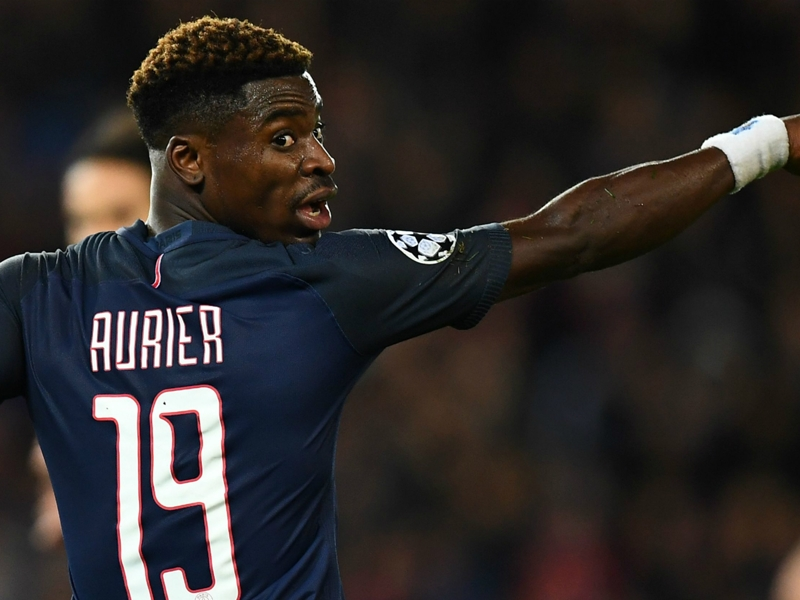 Aurier to miss PSG's Arsenal clash after ban from entering country
