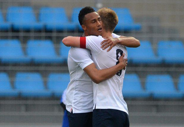 England U21 3-0 Qatar U21: Southgate's men seal opening win in Toulon