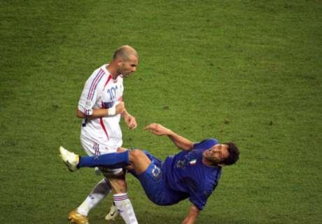 Materazzi desafió a Zidane