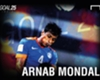Goal 25 2015-16: Arnab Mondal - A career defined by loyalty and leadership