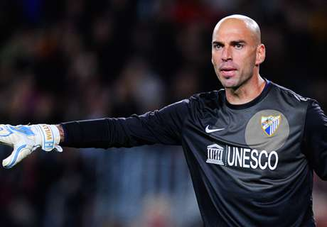 Caballero on verge of Man City move