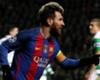 El partido de Messi ante el Gladbach