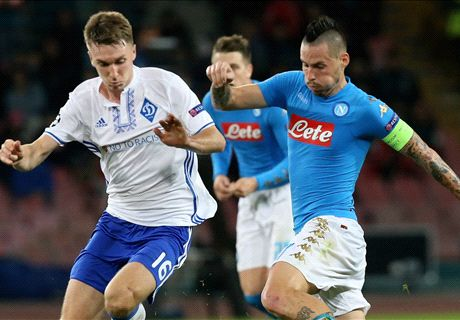 Ratings: Napoli 0-0 Dynamo Kyiv