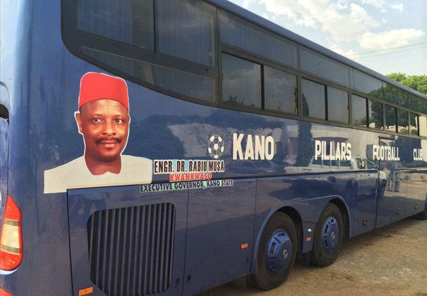 Kano Pillars get sixty-four seater bus, three-month salary