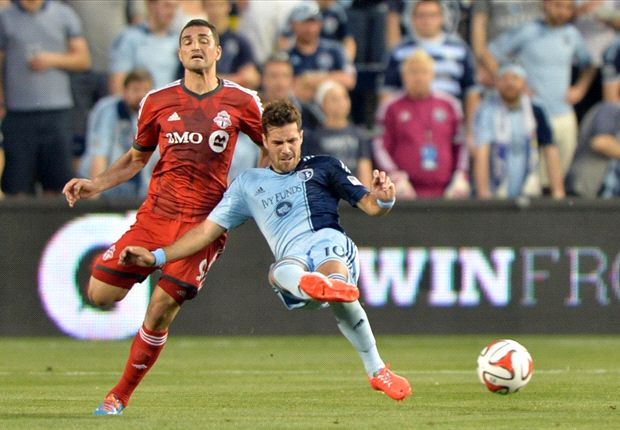 Sporting Kansas City 2-2 Toronto FC: 10-man Reds fight back for draw