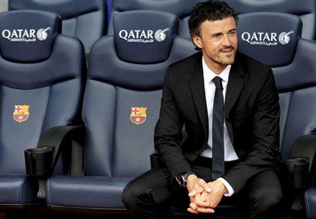 Luis Enrique firmó por dos años con el Barcelona