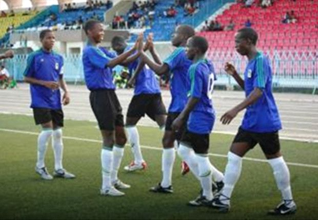 Some of Tanzania's young players coming through the system