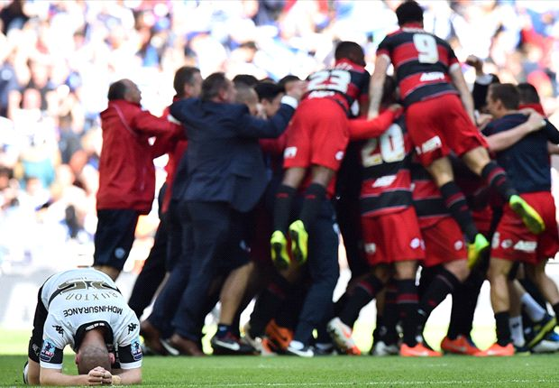 Derby County 0-1 QPR: Last-gasp Zamora winner seals Premier League return