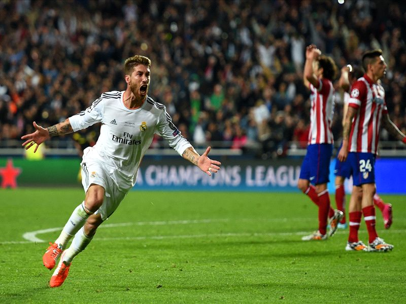 Sealed with a kiss: Ramos rescues Casillas and delivers La Decima