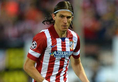 Filipe Luis ready to fight for place