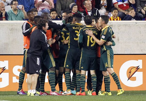 New York Red Bulls 1-2 Portland Timbers: Urruti's pair gives Timbers three points