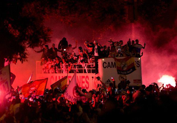 Noche de fiesta en el Santiago Bernabéu