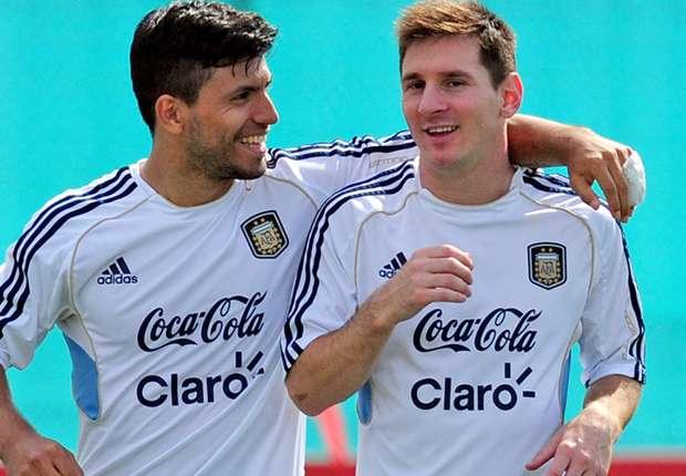 Agüero habría pasado el fin de semana con Lionel Messi