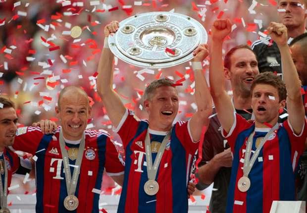 Der Deutsche Meister der Saison 2013/14 heißt Bayern München