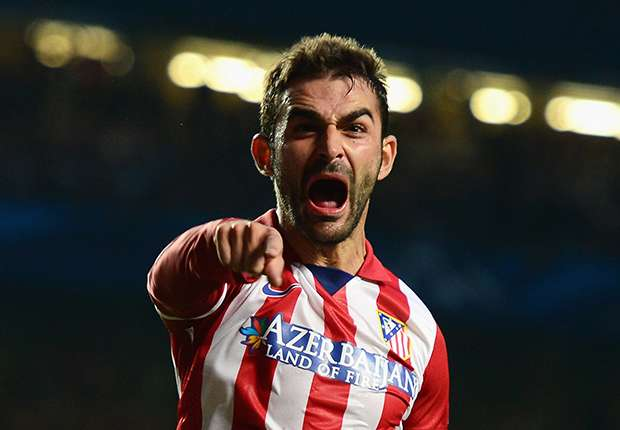 Adrian, penyerang Atletico Madrid.