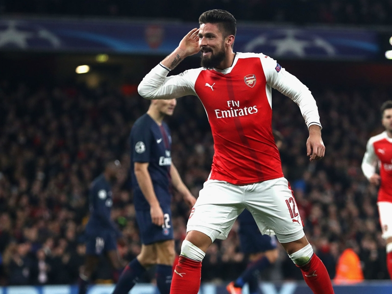 Arsenal, Giroud plus efficace qu'Alexis Sanchez ?