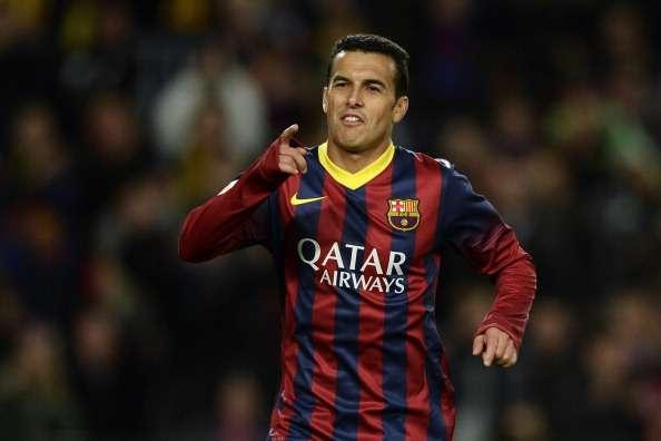 Pedro Rodriguez Barcelona Granada La Liga 11232013