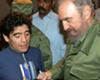 Murió Fidel Castro, el salvador de Diego
