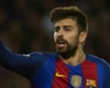 Pique back in Barca training