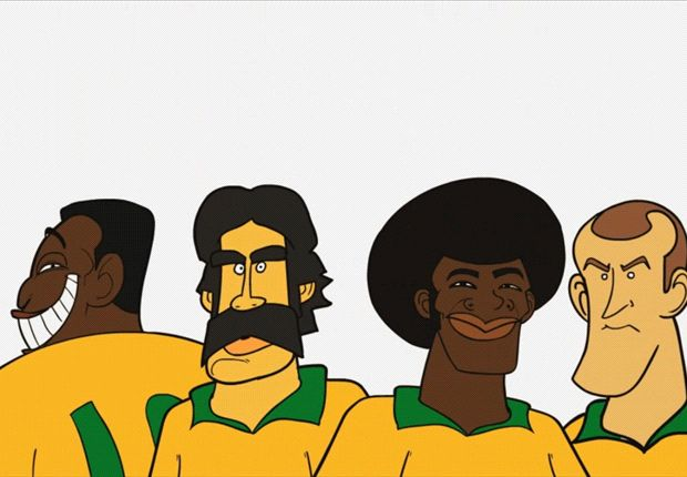 GoalToons: Pele, Ronaldo and the great Brazil World Cup moments