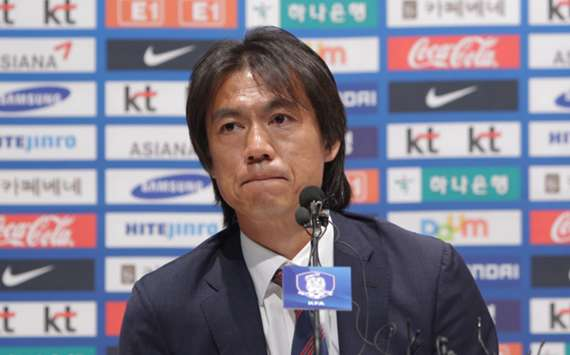 South Korea head coach Hong Myung-bo
