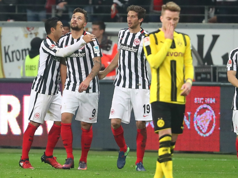Francfort-Dortmund 2-1, le Borussia méconnaissable