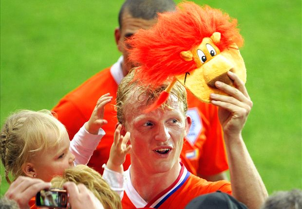 Why Netherlands fans dress up as orange lions