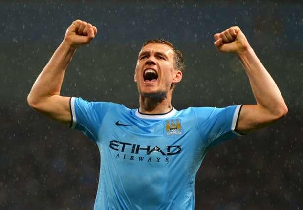 Edin Dzeko pilih tetap beseragam Manchester City
