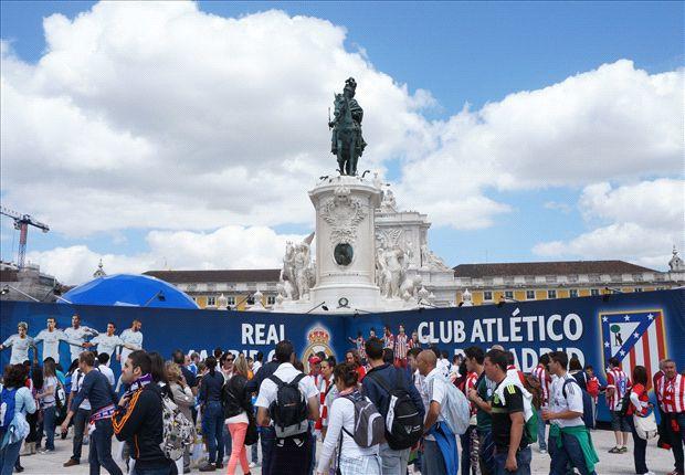 Lisboa antes de la Final