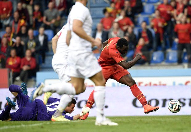 Belgium 5-1 Luxembourg: Lukaku hits hat trick as Januzaj makes international debut
