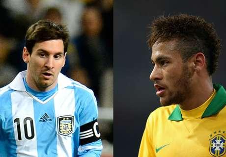 Argentina Di Grup B Copa America, Brasil Di Grup C