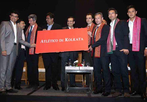 Sourav Ganguly Atletico de Kolkata