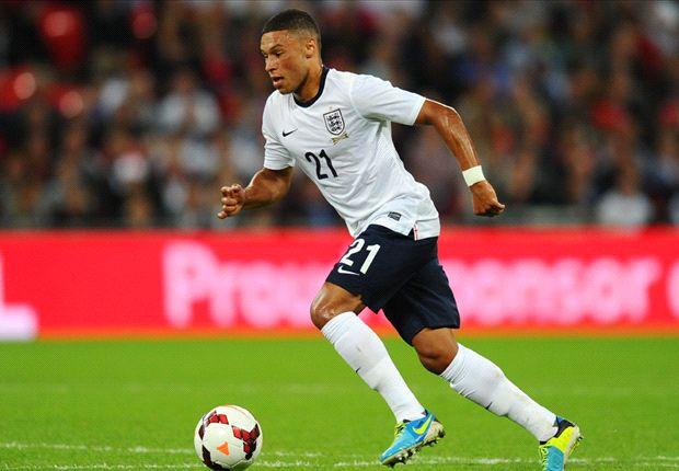 Oxlade-Chamberlain: England aiming to win World Cup
