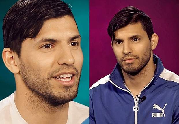 'I don't dream of being like Messi... he dreams of being like me!' - Aguero
