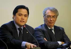 Massimo Moratti ed Erick Thohir, una convivenza durata poco