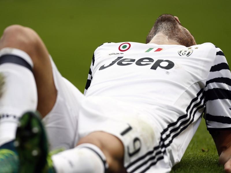 Juventus, Bonucci absent entre 6 et 8 semaines