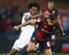 ¡Muy polifuncional! Cuadrado jugó de delantero, volante y defensa ante Genoa