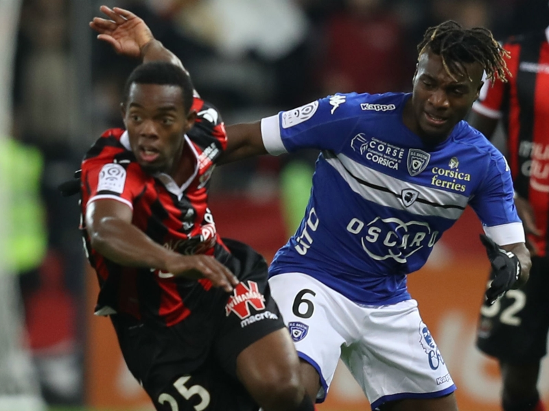 Nice-Bastia (1-1), la chance a fui les Aiglons