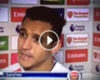 ► Alexis, a lo Tevez: ''very difficult''
