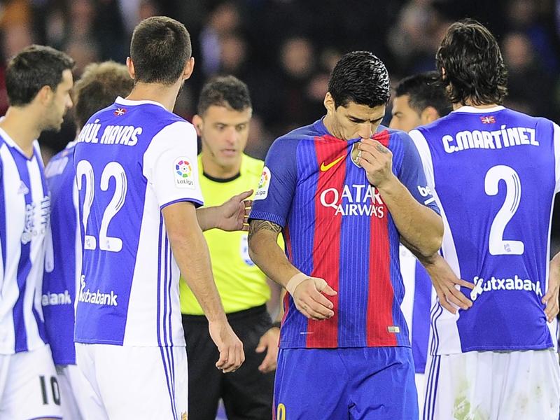Real Sociedad-Barcellona 1-1: Sofferenza blaugrana, Messi salva Luis Enrique