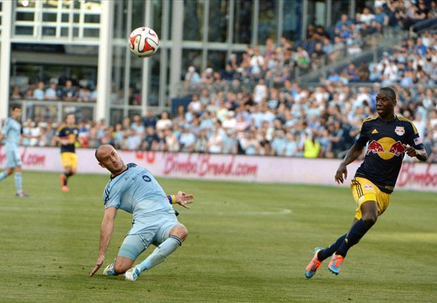 Sporting Kansas City 1-1 New York Red Bulls: Wright-Phillips nets again to earn draw