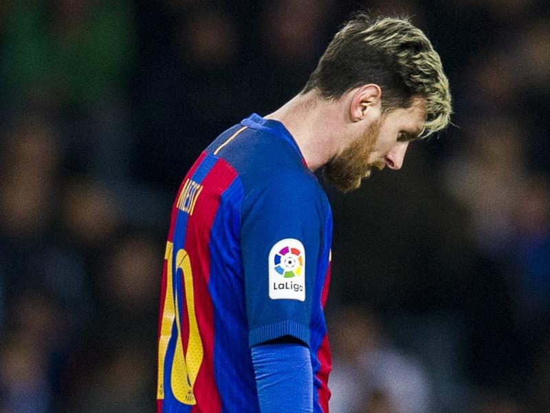 Barça, Messi ne s'est pas entrainé