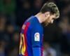 Messi ne s'est pas entrainé