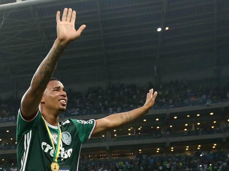 Gabriel Jésus heureux de rejoindre Manchester City