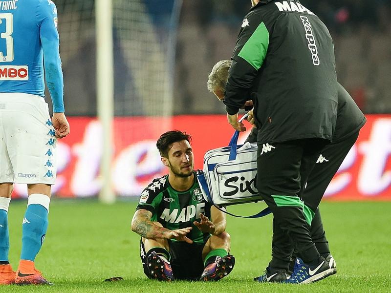 Il Sassuolo perde Politano: caviglia ko, arrivederci al 2017