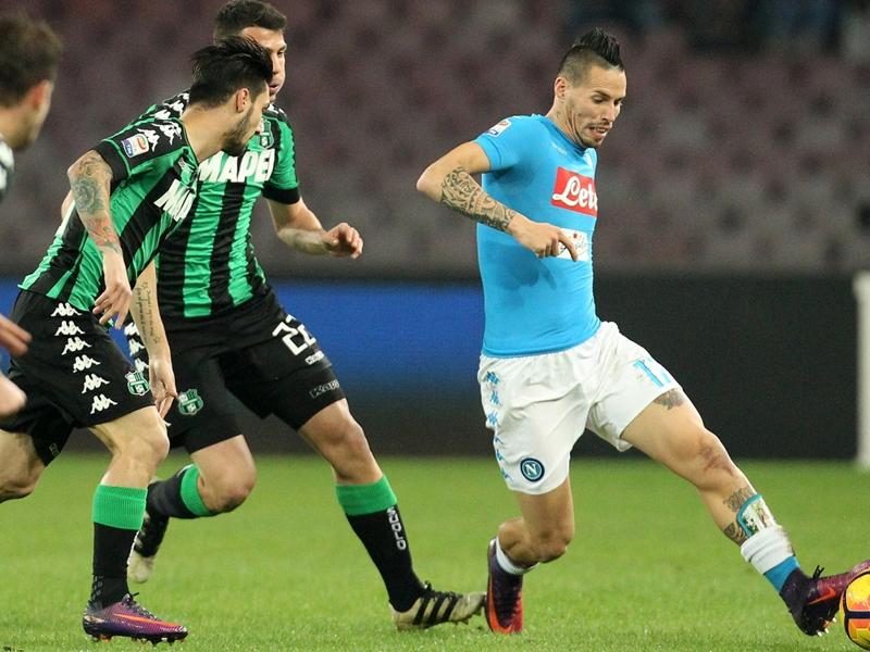 VIDEO - Napoli-Sassuolo 1-1, goal e highlights