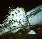 Imagens do local do acidente com o avião da Chapecoense
